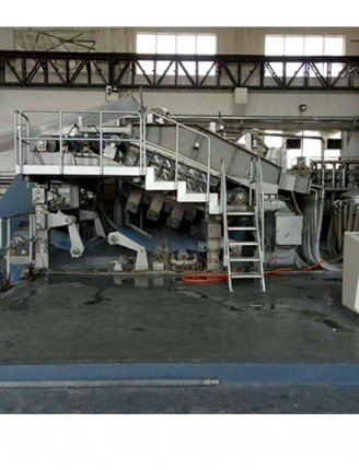 Single layer inclined net special paper machine