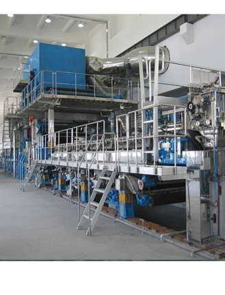 Special paper making machine