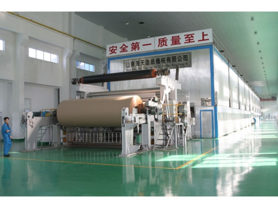 Long net multi-cylinder paper machine