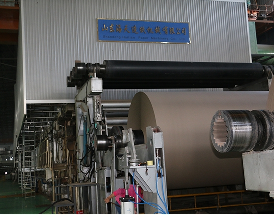 Corrugated original paper machine