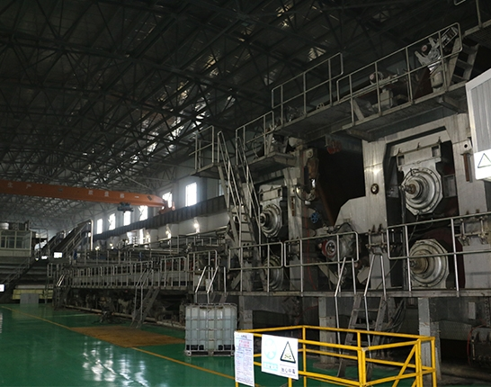 The net part and press part of the paper machine