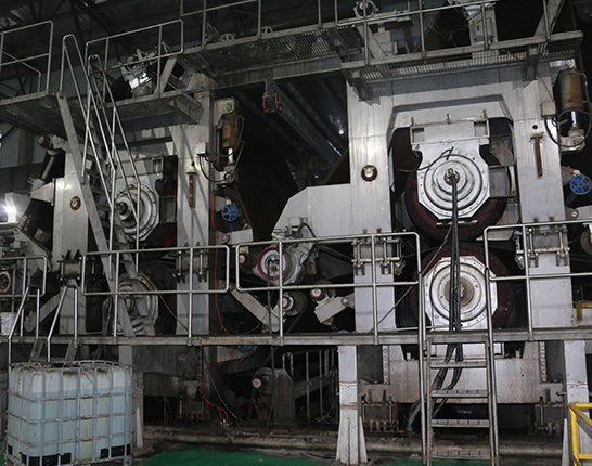 Press section of paper mill